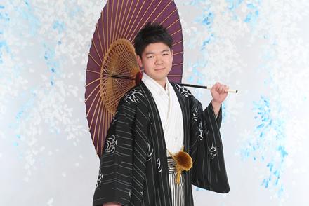 男性紋付袴