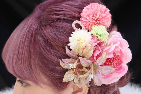 髪飾り品揃え豊富!